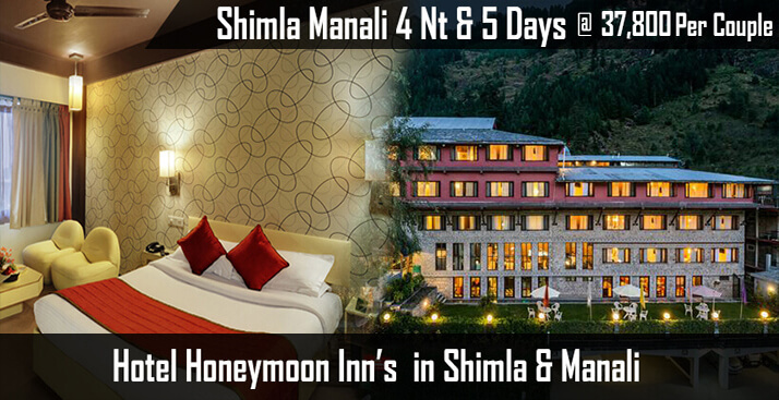 Shimla Manali Tour With Honeymoon Inn Hotels
