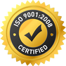 ISO 9001.2008 Certified