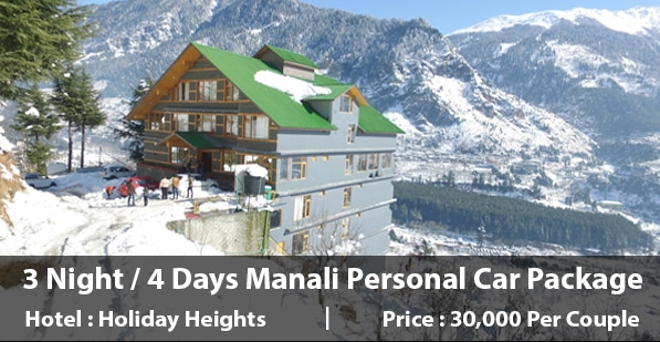 Holiday Heights Manali Package