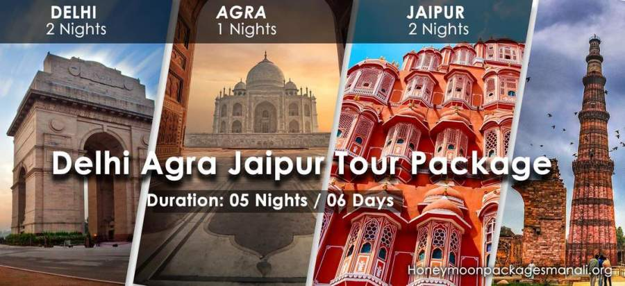 Delhi Agra Jaipur Tour Packages from Bangalore