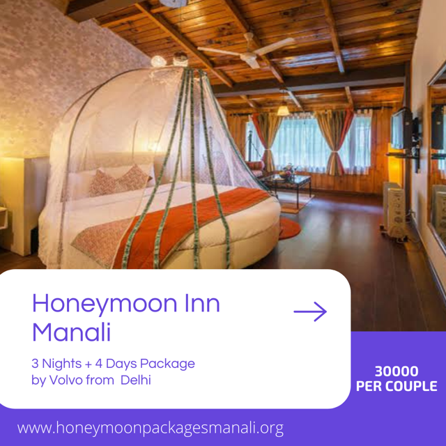 Honeymoon Inn Manali Volvo Package