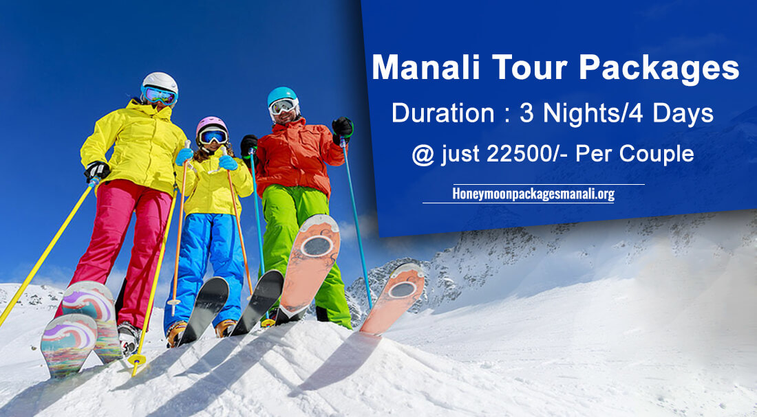 Manali Family Tour Packages From Delhi