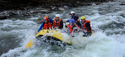 River Rafting in Manali Kullu