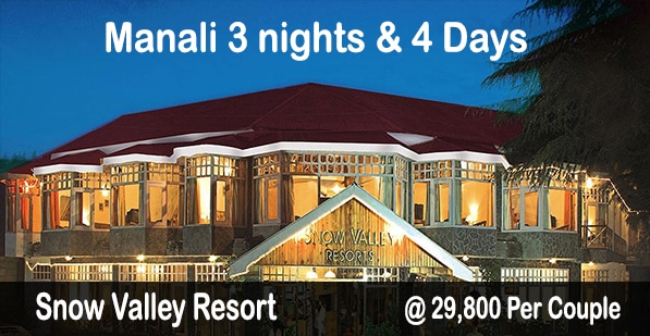 Snow Valley Manali Package